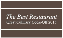 The Best Restaurant Award 2015